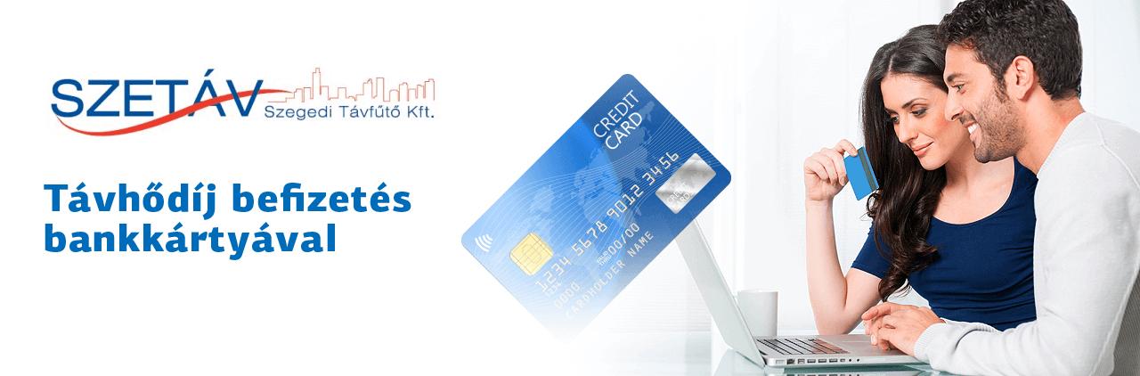 Távhődíj befizetés bankkártyával